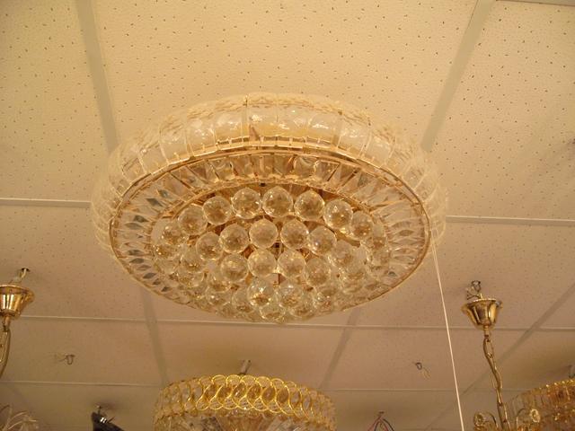 Хрустальные люстры потолочные